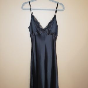 BCBG Paris 100% Silk Lingerie Slip Dress NWT
